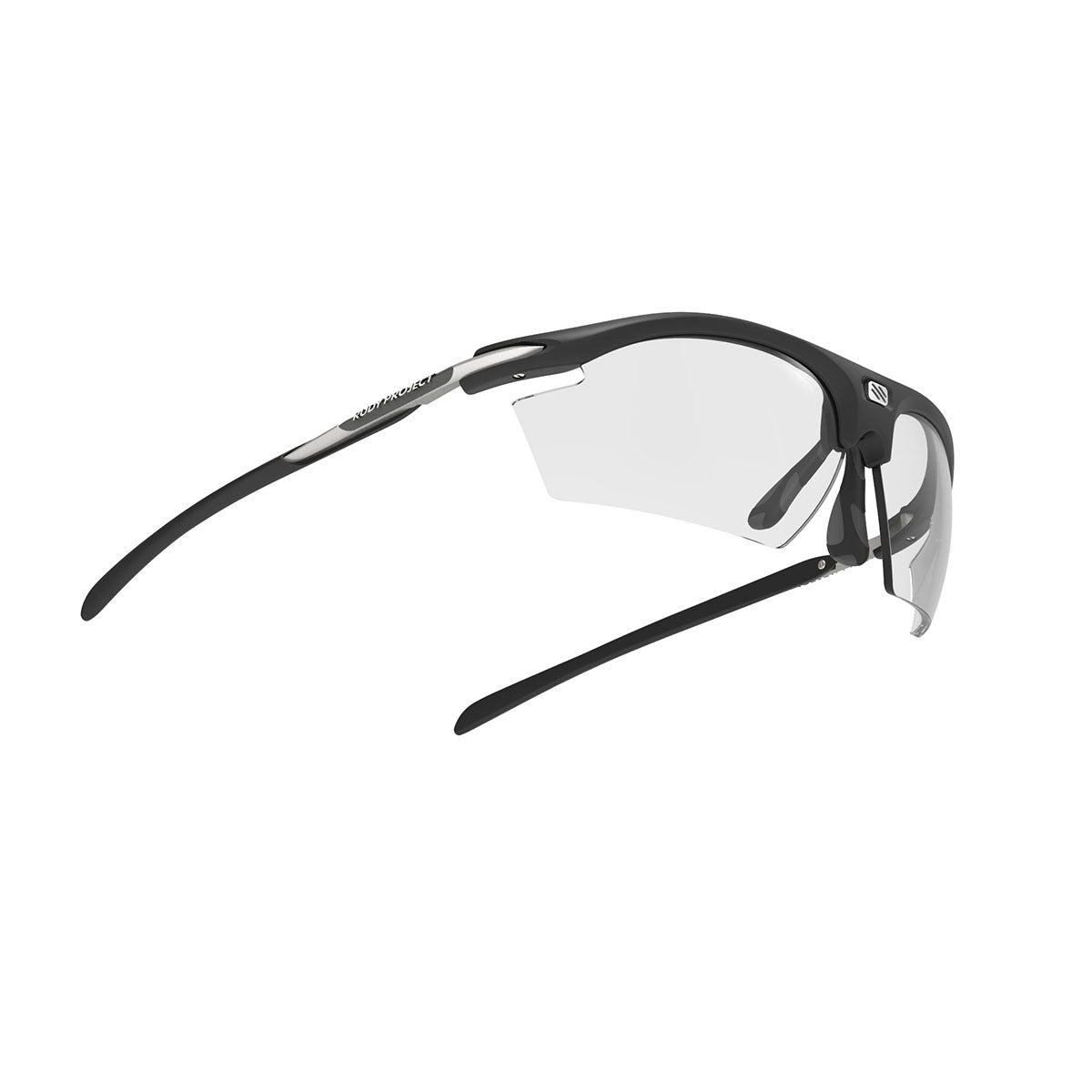 Rudy Project - Rydon - frame color: Matte Black - lens color: ImpactX-2 Photochromic Clear to Black - photo angle: Bottom Front Angle Variant Hover Image