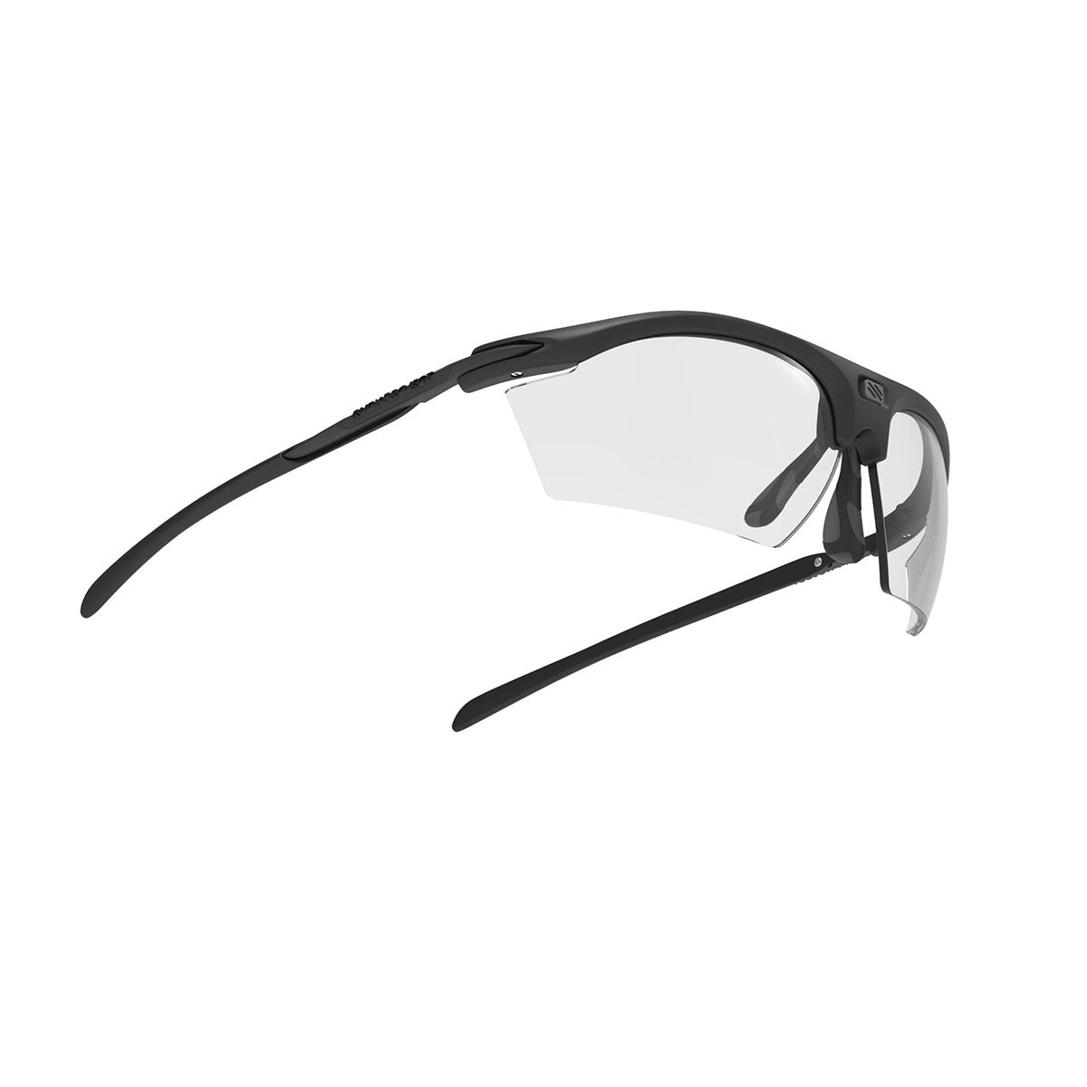 Rudy Project - Rydon - frame color: Stealth Matte Black - lens color: ImpactX-2 Photochromic Clear to Black - photo angle: Bottom Front Angle Variant Hover Image