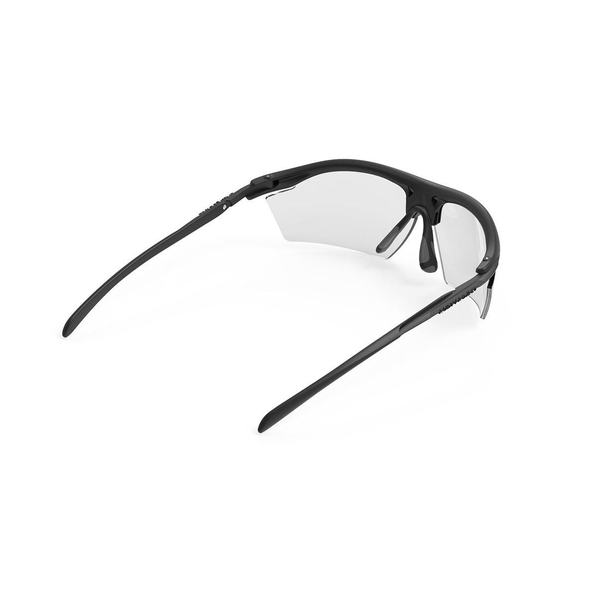 Rudy Project - Rydon - frame color: Stealth Matte Black - lens color: ImpactX-2 Photochromic Clear to Black - photo angle: Top Back Angle Variant Hover Image