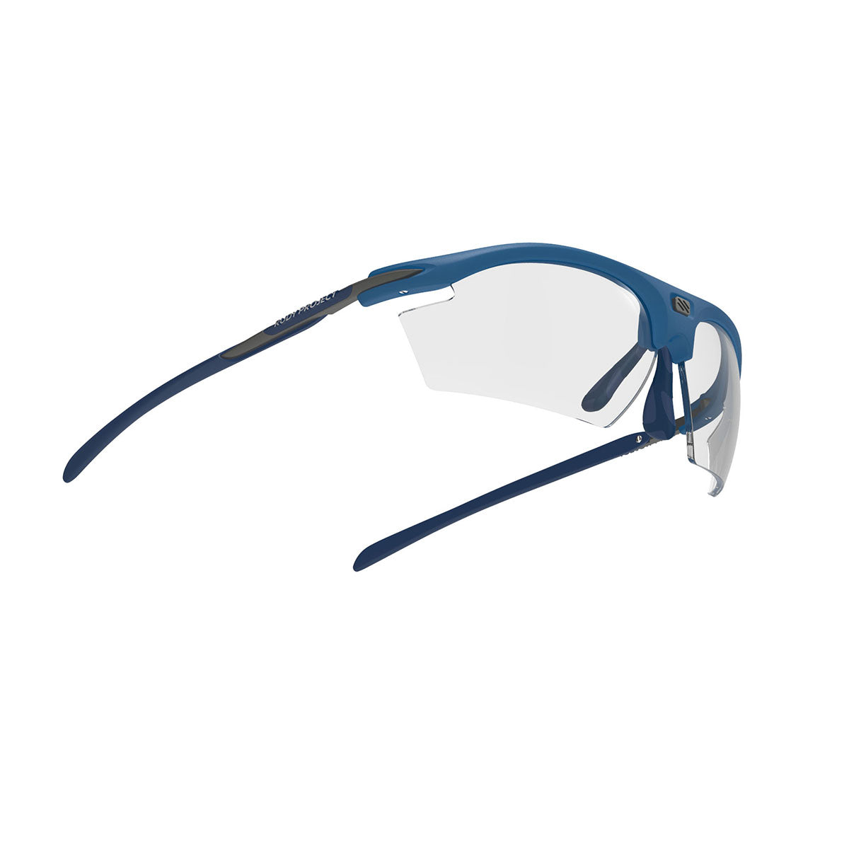 Rudy Project - Rydon - frame color: Pacific Blue Matte - lens color: ImpactX-2 Photochromic Clear to Black - photo angle: Bottom Front Angle Variant Hover Image