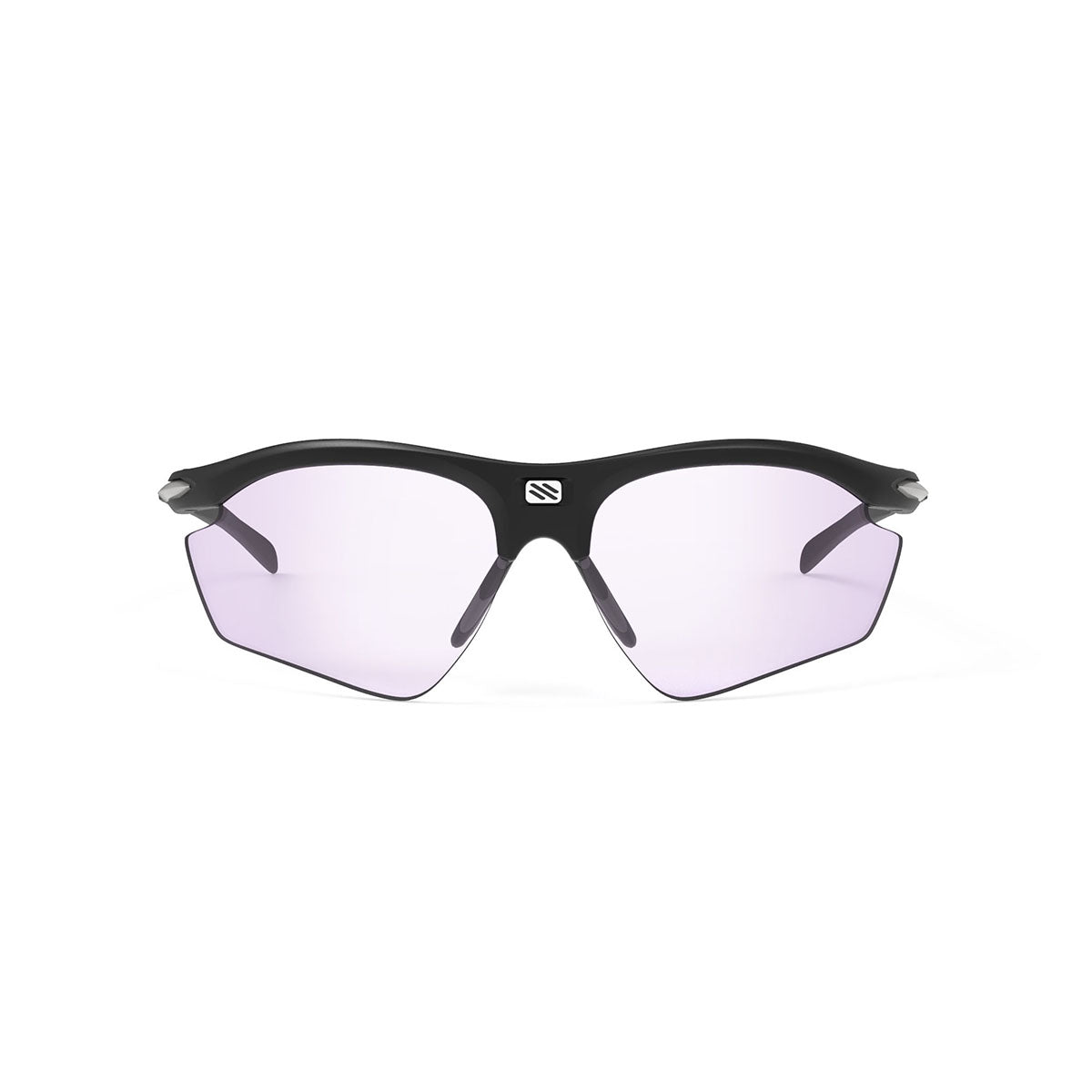 Rudy Project - Rydon Golf - frame color: Matte Black - lens color: ImpactX-2 Photochromic Laser Purple - photo angle: Front View Variant Hover Image