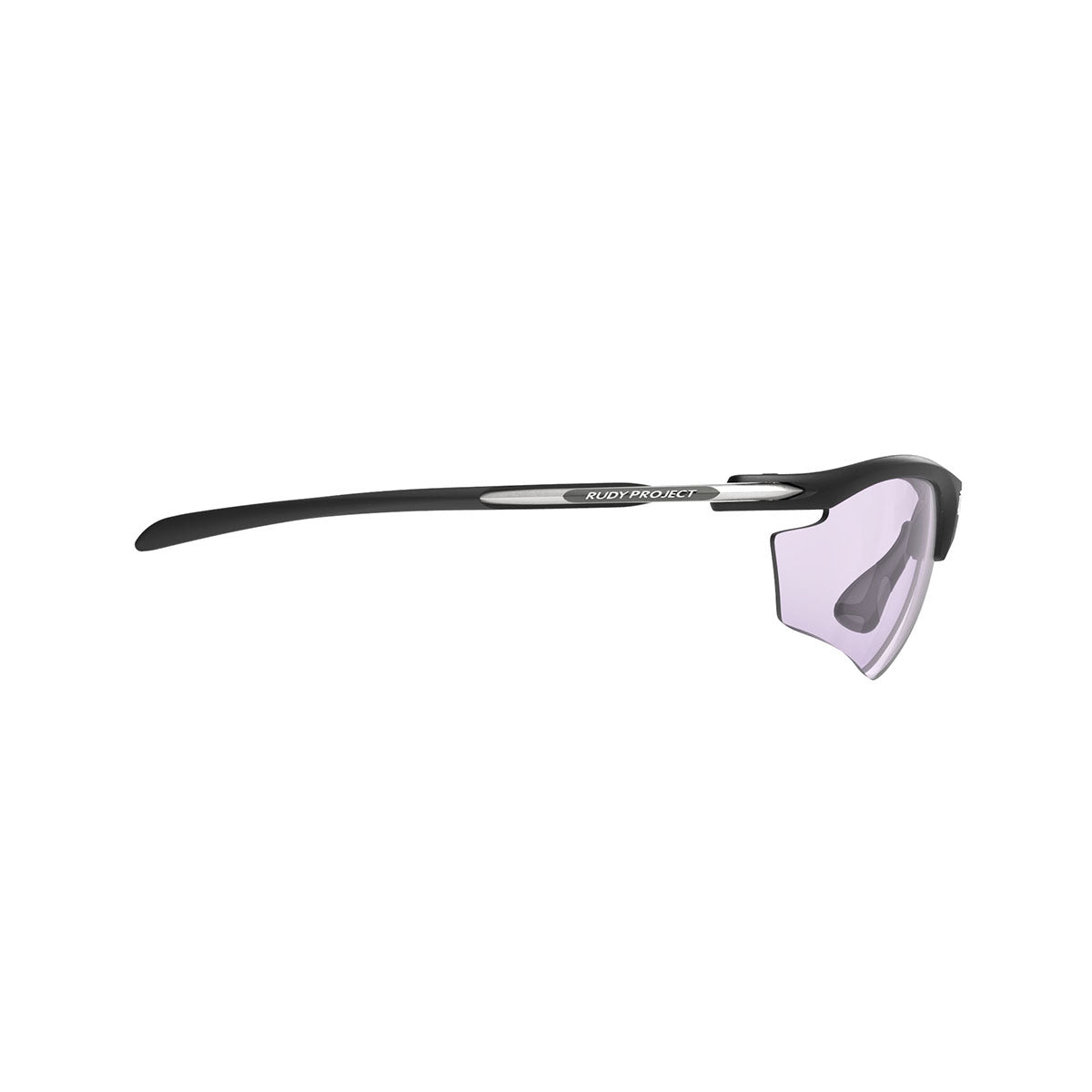 Rudy Project - Rydon Golf - frame color: Matte Black - lens color: ImpactX-2 Photochromic Laser Purple - photo angle: Side Variant Hover Image