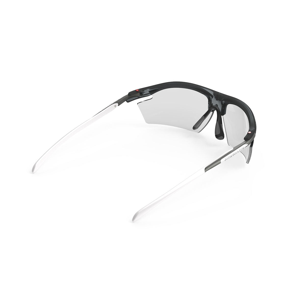Rudy Project - Rydon - frame color: Frozen Ash - lens color: ImpactX-2 Photochromic Clear to Laser Black - photo angle: Top Back Angle Variant Hover Image