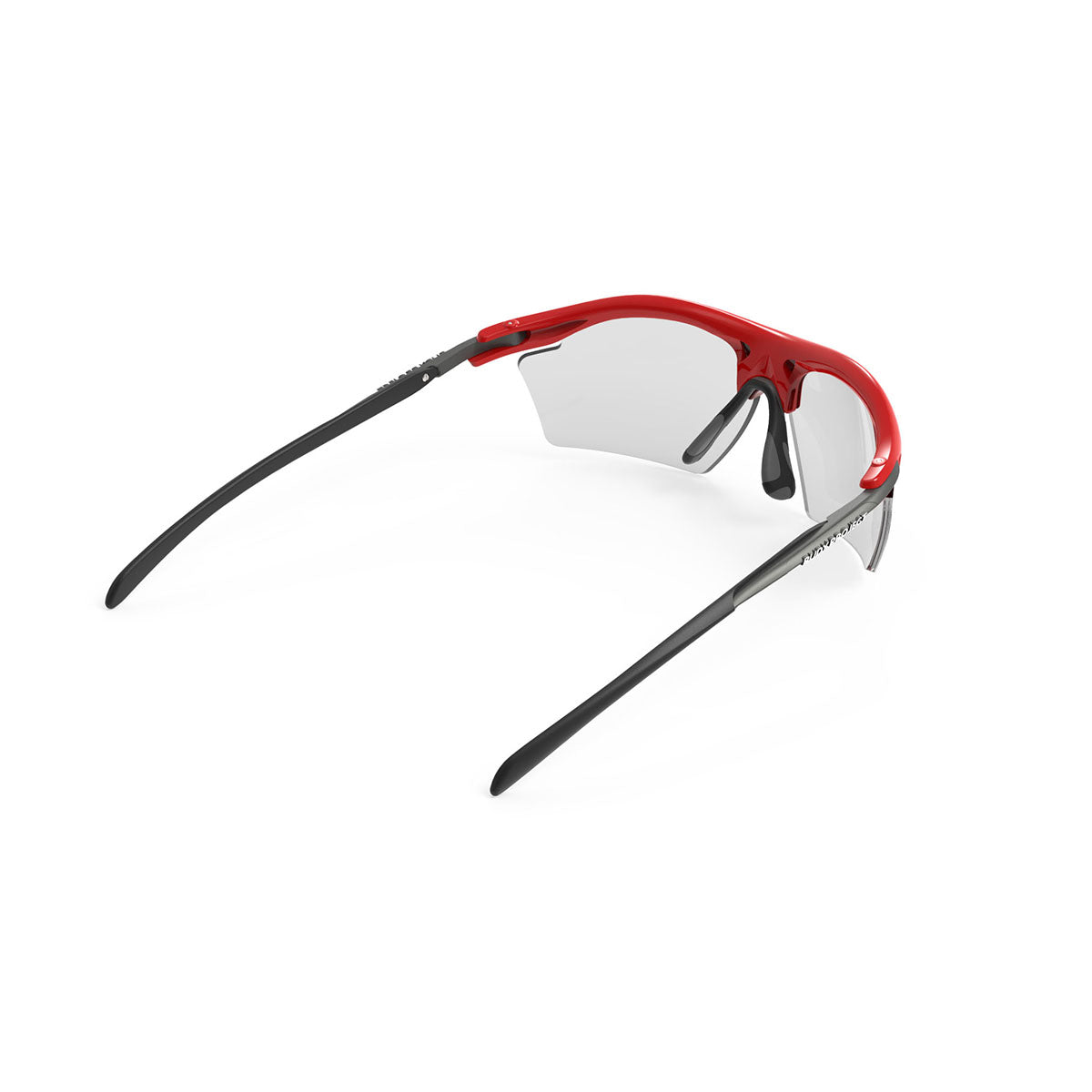 Rudy Project - Rydon Slim  - frame color: Fire Red Gloss - lens color: ImpactX-2 Photochromic Clear to Black - photo angle: Top Back Angle Variant Hover Image