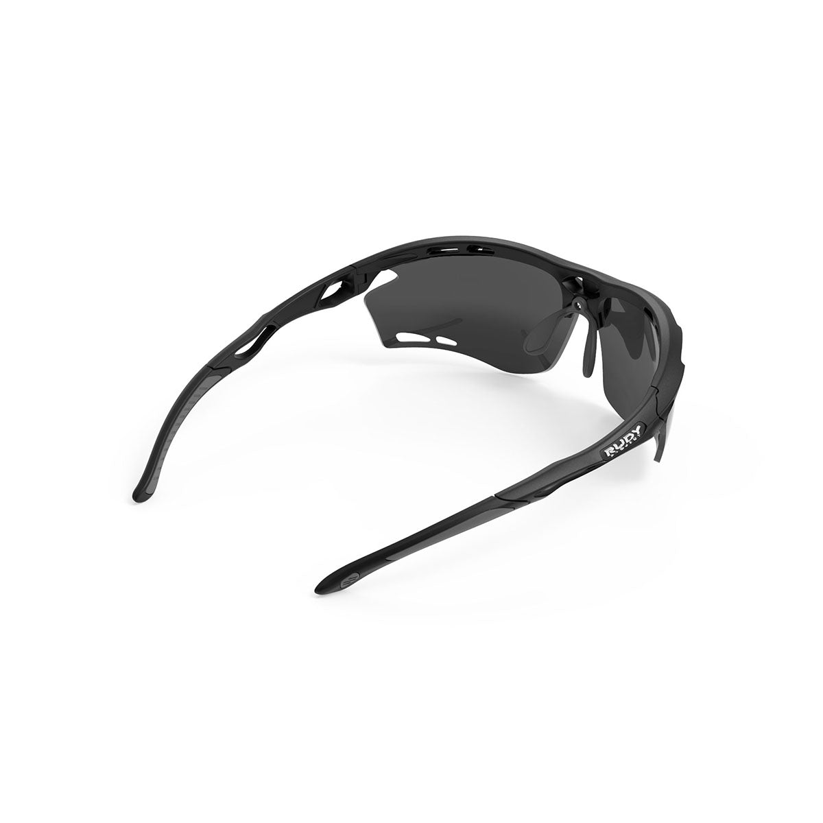 Rudy Project - Propulse - frame color: Matte Black - lens color: Smoke Black - Bumper Color:  - photo angle: Top Back Angle Variant Hover Image
