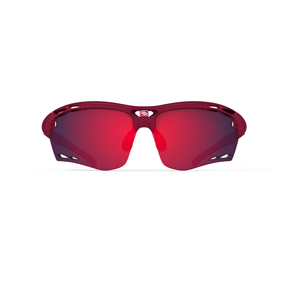 Rudy Project - Propulse - frame color: Merlot Matte - lens color: Multilaser Red - Bumper Color:  - photo angle: Front View Variant Hover Image