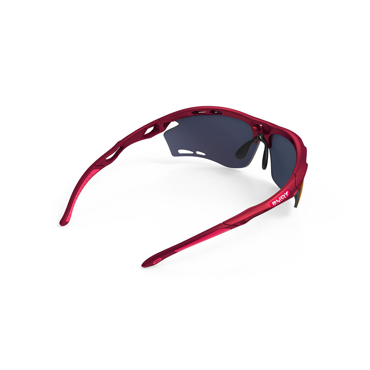 Rudy Project - Propulse - frame color: Merlot Matte - lens color: Multilaser Red - Bumper Color:  - photo angle: Top Back Angle Variant Hover Image