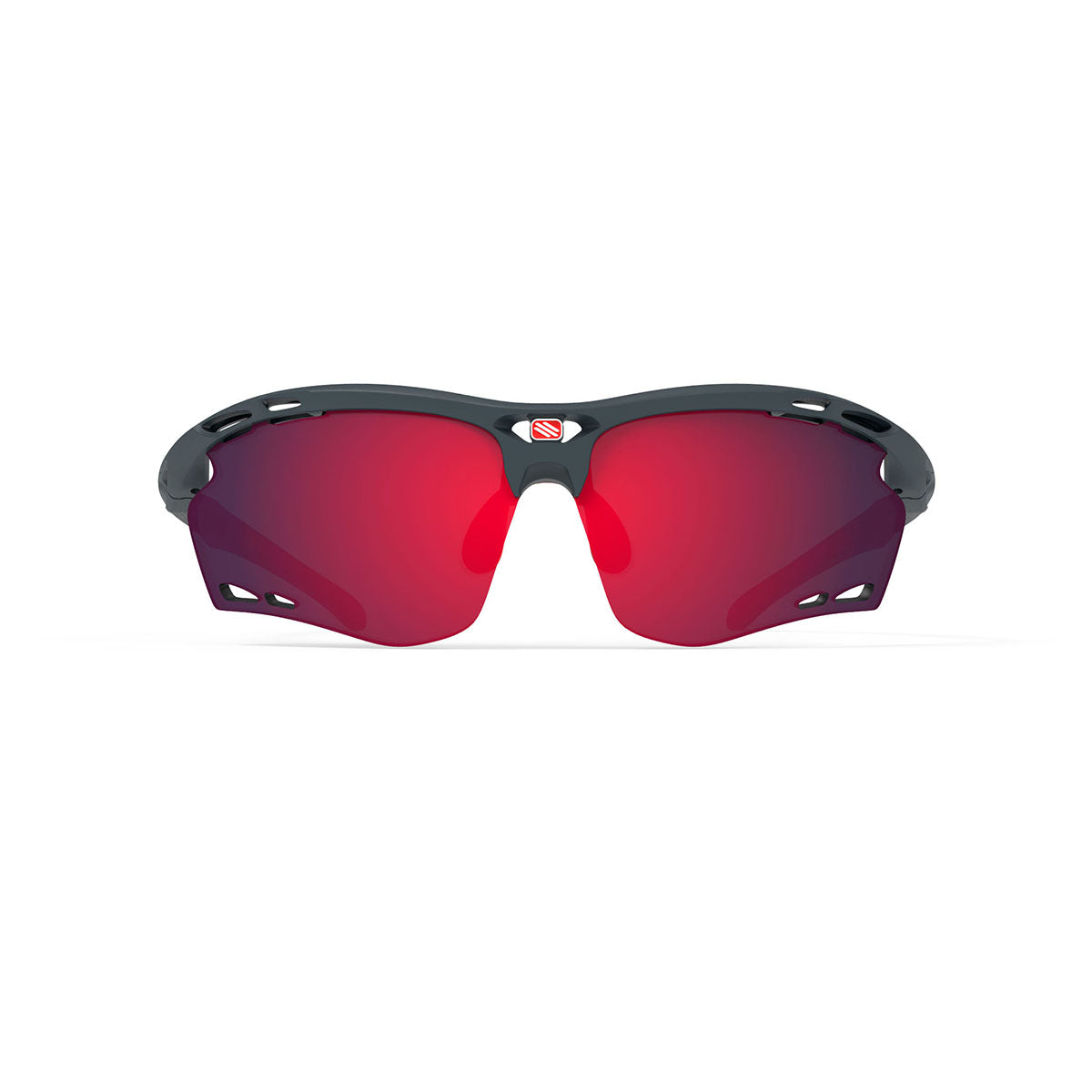 Rudy Project - Propulse - frame color: Charcoal Matte - lens color: Multilaser Red - Bumper Color:  - photo angle: Front View Variant Hover Image