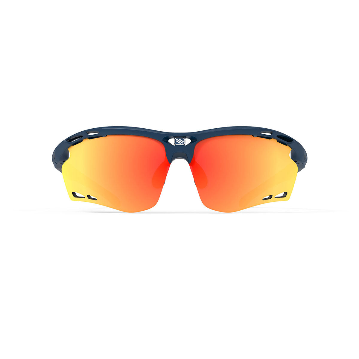Rudy Project - Propulse - frame color: Navy Blue Matte - lens color: Multilaser Orange - Bumper Color:  - photo angle: Front View Variant Hover Image