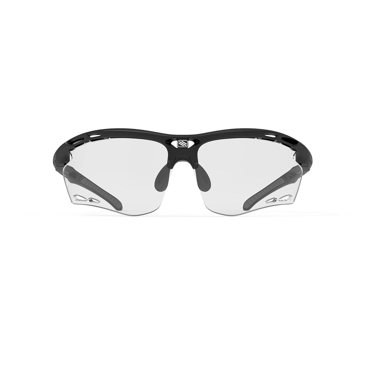 Rudy Project - Propulse - frame color: Matte Black - lens color: ImpactX-2 Photochromic Clear to Black - Bumper Color:  - photo angle: Front View Variant Hover Image
