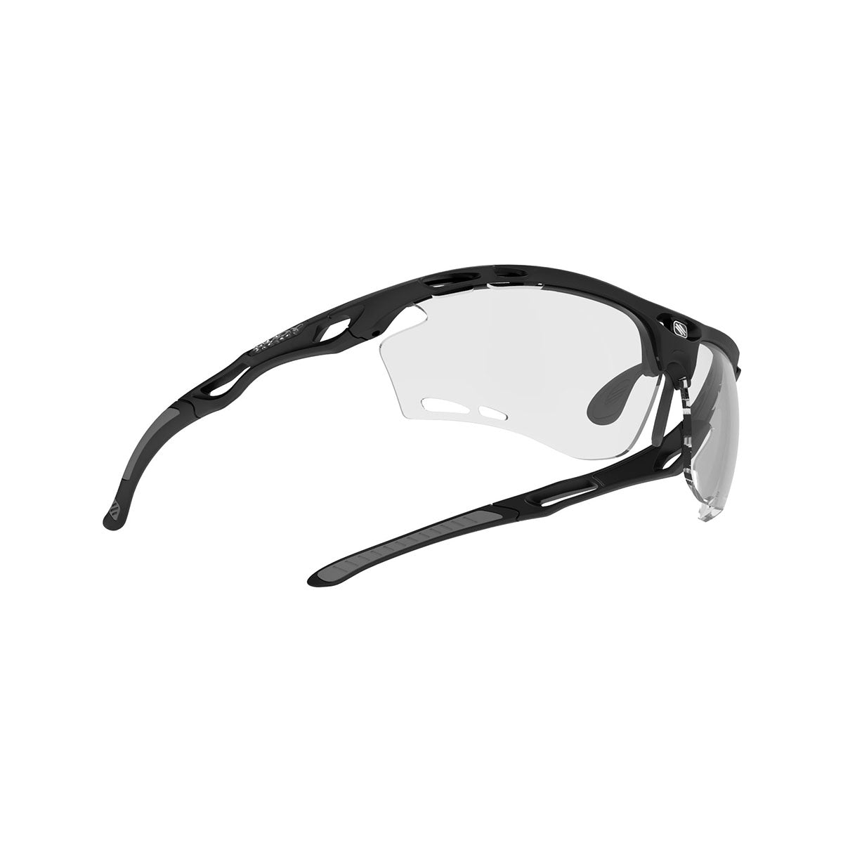 Rudy Project - Propulse - frame color: Matte Black - lens color: ImpactX-2 Photochromic Clear to Black - Bumper Color:  - photo angle: Bottom Front Angle Variant Hover Image