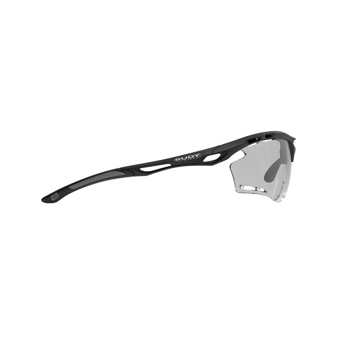Rudy Project - Propulse - frame color: Matte Black - lens color: ImpactX-2 Photochromic Clear to Black - Bumper Color:  - photo angle: Side Variant Hover Image