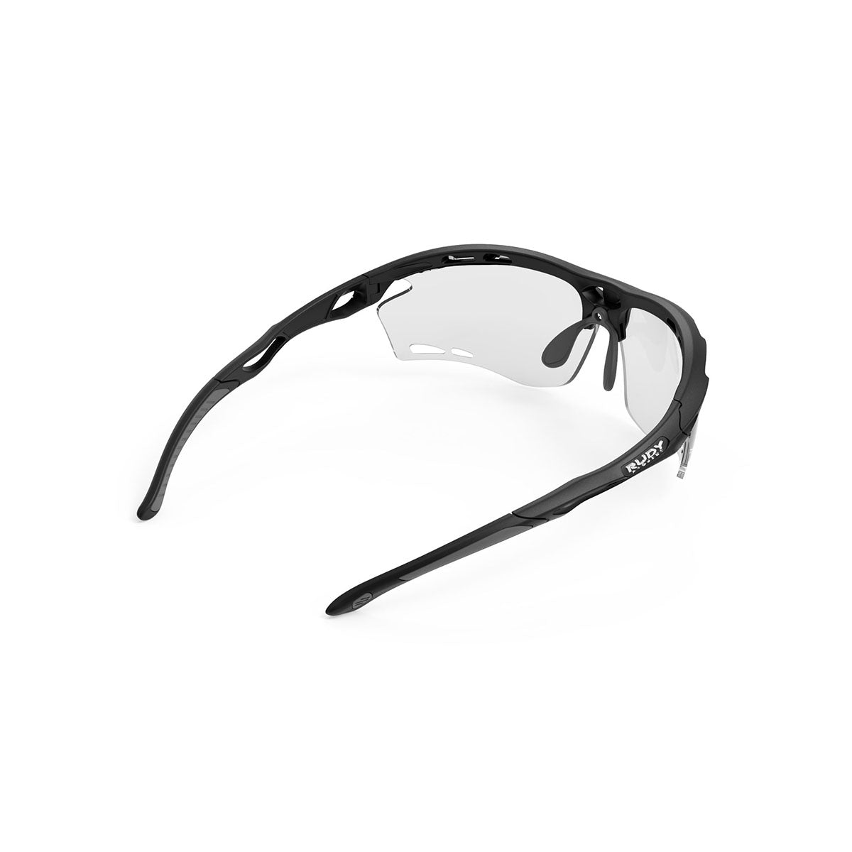 Rudy Project - Propulse - frame color: Matte Black - lens color: ImpactX-2 Photochromic Clear to Black - Bumper Color:  - photo angle: Top Back Angle Variant Hover Image