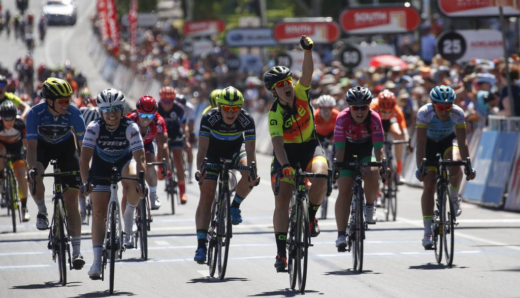 Chloe Hosking Stage Four Win, Alison Jackson Fifth