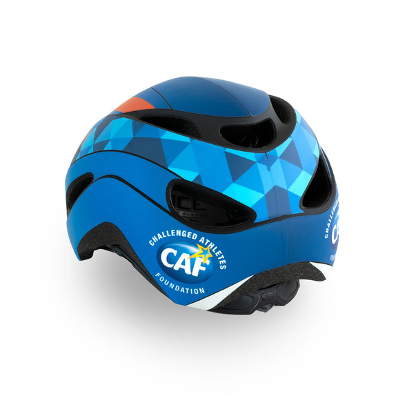 Challenged Athletes Foundation Rudy Project Volantis Helmet 3/4 Rear View