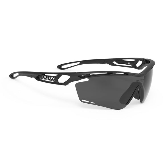 tralyx | Matte Black Frame and Polar3FX Grey Laser Lenses