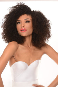 Virgin Brazilian 4B Curl U-Part Wig