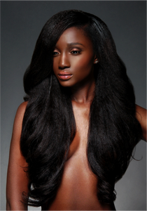 Virgin Brazilian Kinky Straight U-Part Wig