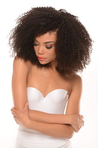 Virgin Brazilian 4B Curl Lace Wig