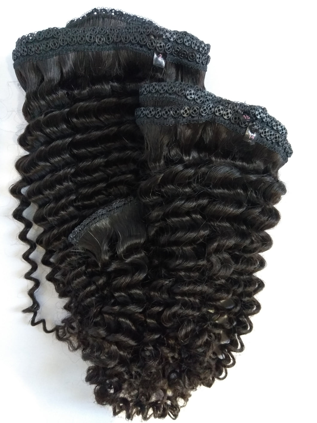 2-3 Bundles Virgin Peruvian Curly Cap Not Included-10% DISCOUNT CODE V9SQ-0208-TKM6