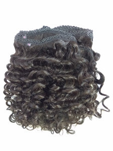 Virgin Peruvian Deep wave 360 Silk Frontal Wig