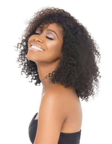 Virgin Peruvian Kinky Curly U-Part Wig
