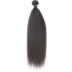2-3 Bundles Virgin Peruvian Kinky Straight! Hair Only-10% DISCOUNT CODE V9SQ-0208-TKM6