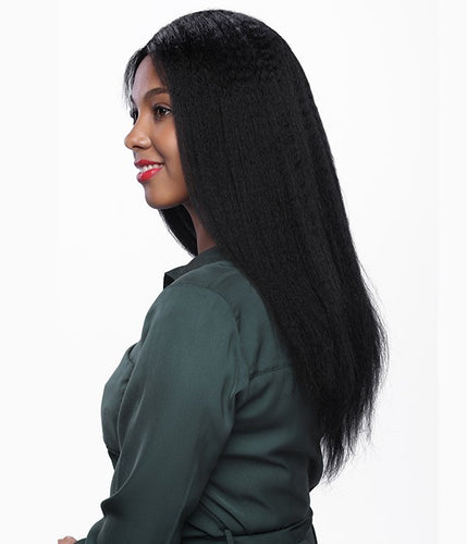 2-3 Bundles Virgin Peruvian Kinky Straight Cap Included