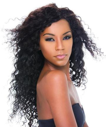 Virgin Peruvian Curly Lace Wig