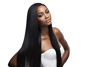 Virgin Peruvian Straight Lace Wig