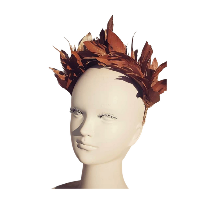 Lulu Feather Crown ☘ IRISH DESIGN