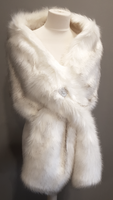Oversizesd Faux Fox Fur Wrap