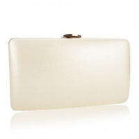 Suzanne clutch bag - Ivory
