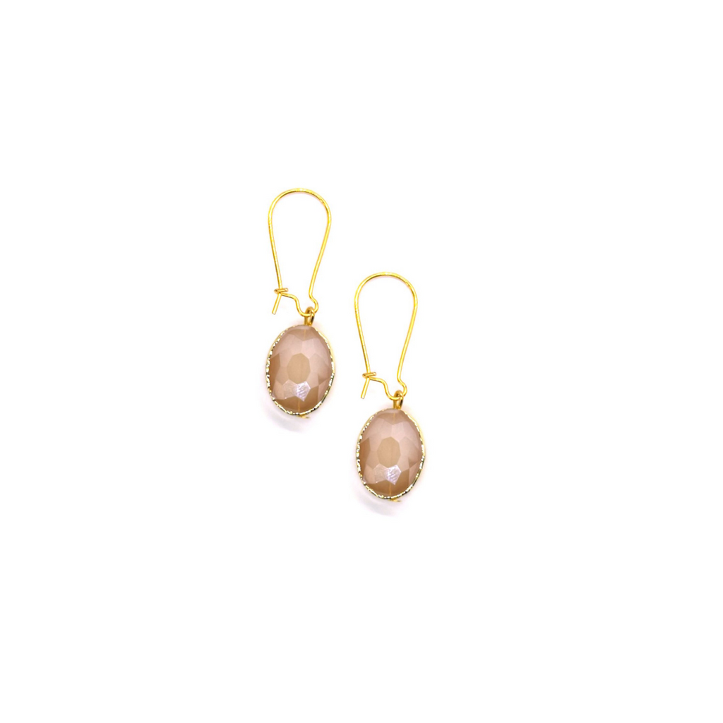 Siobhan Daly Vintage Drop Earrings - DUSTY