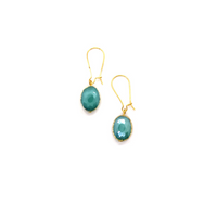 Siobhan Daly Vintage Drop Earrings - OCEAN