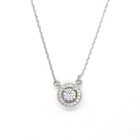 Kerys Silver necklace