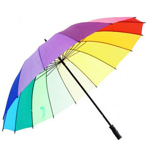 LOVE is LOVE rainbow brollie