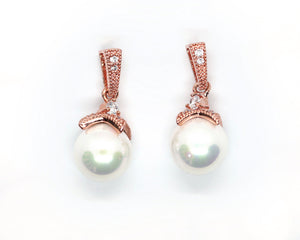 Mari-Rose Pearl Drop Earrings