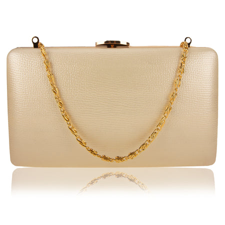 Suzanne clutch bag - Gold