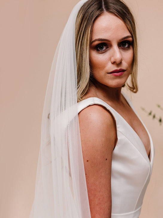 Soft tulle veil - 2 Lengths