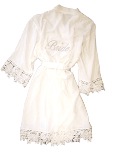 Lace Bride Robe