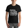 PCC 2016 Short-Sleeve Unisex T-Shirt with USPSA logo/Label on back of neckline