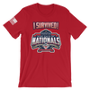 """I Survived"" Nationals Tee"