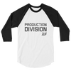 Production Division 3/4 Sleeve Tee.