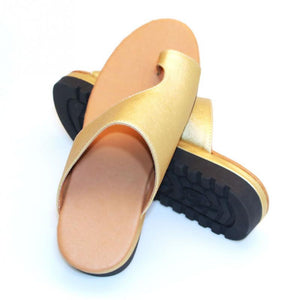 PU Leather Orthopedic Bunion Support Shoes