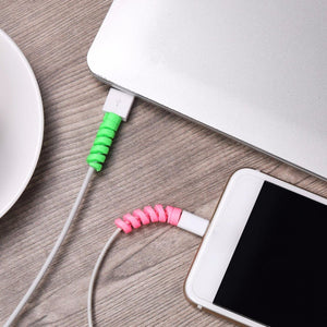 2pcs Protective Sleeve Cable Accessory