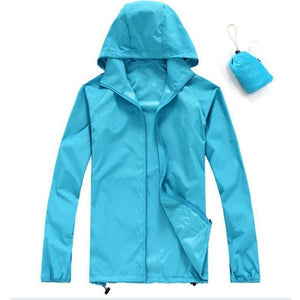 Quick Dry Skin Jackets Waterproof Anti-UV Coats