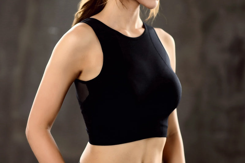 Breathable Mesh Sports Top