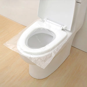 10pcs/Pack Portable Disposable Toilet Pats