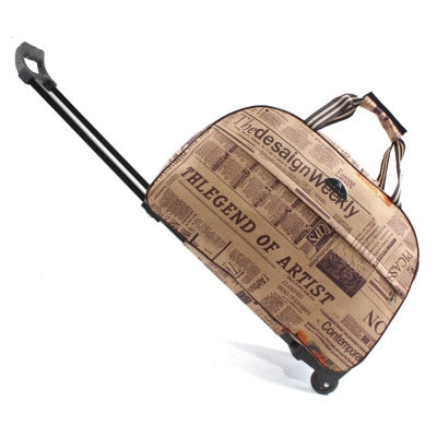 Duffle Trolley Rolling bag